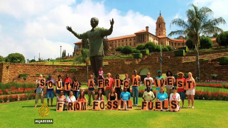fossil fuel divestment south africa