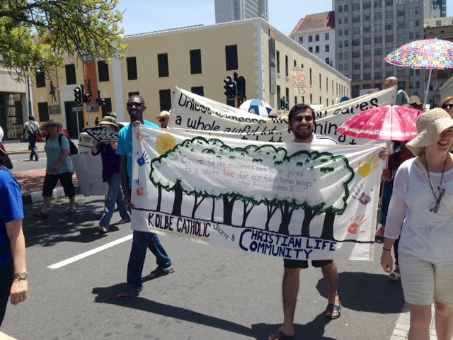 global climate march cape town cop21 -8