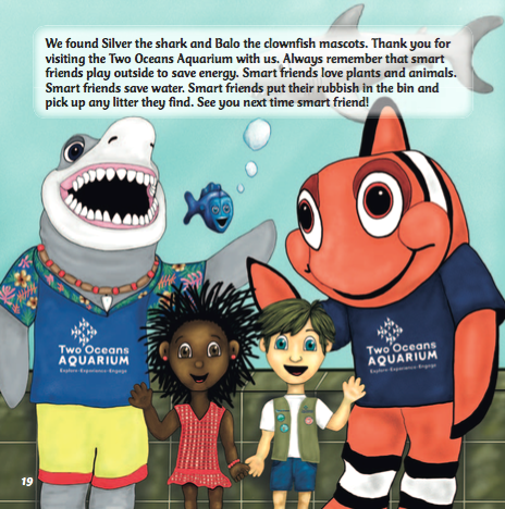 live smart two oceans kids youth puppets hamper