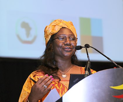 Estherine Fotabong Director of Program Implementation and Coordination at NEPAD_2