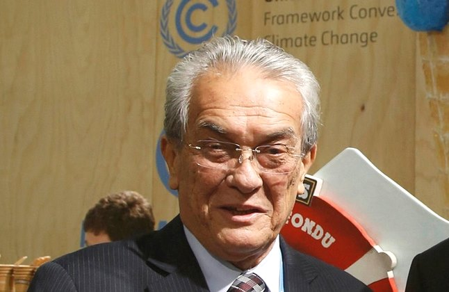 Marshall Islands foreign minister cop21 Tony de Brum climate coalition