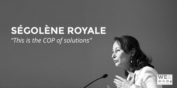 Segolene Royal Frances environmental minister
