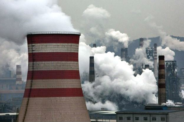 china climate change cop21 fossil fuels power station