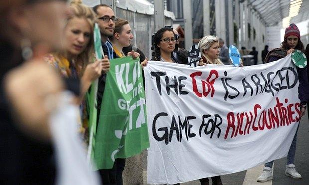 cop21 paris climate talks rigged rich countries emissions