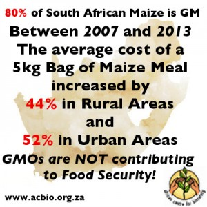 foos staple GMO poor poverty south africa