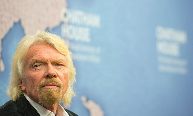 richard branson business coalition climate change paris