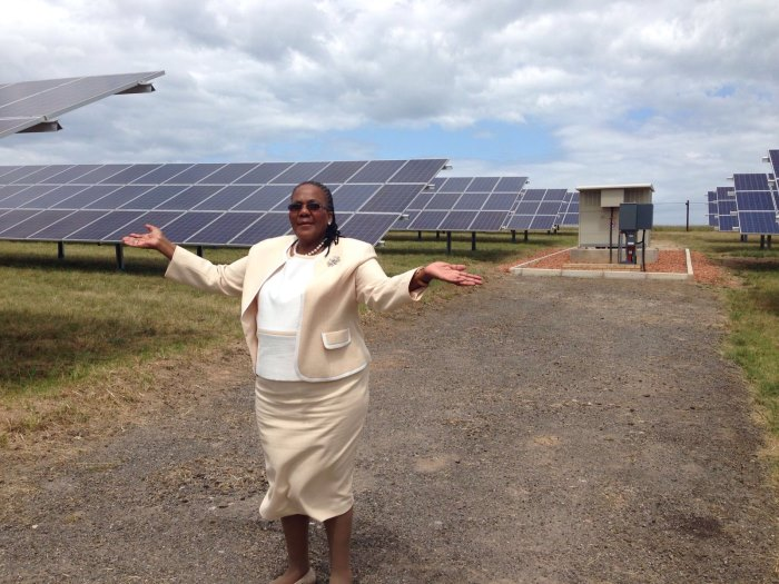 George airport first solar powered Africa (3)