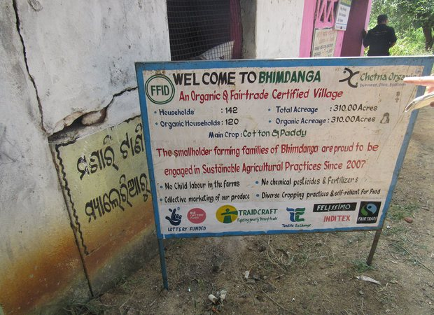 Bhimdanga fully organic Fairtrade village Kalahandi Odisha