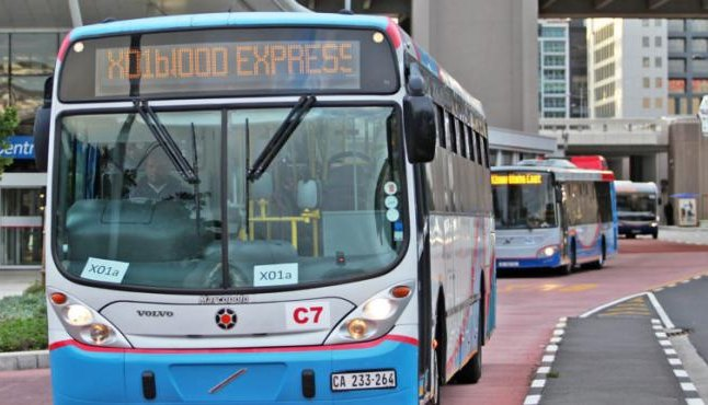MyCiTi bus service Cape Town climate change alternative fuel technology