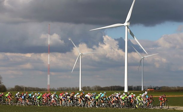 Wind power electricity generation worldwide greenhouse climate change green times