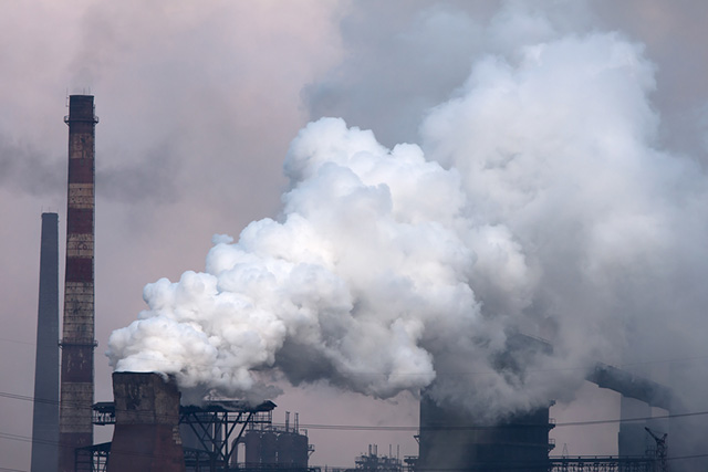 climate change air pollution shutterstock carbon dioxide