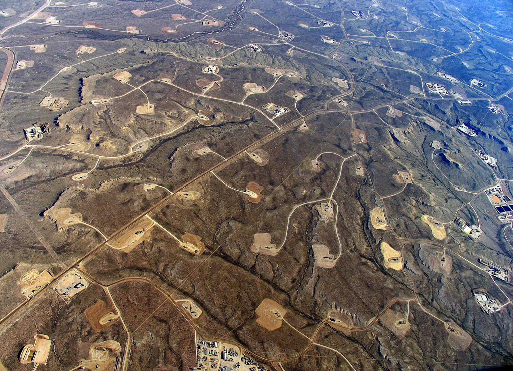 fracking aerial south africa karoo durban environmental damage