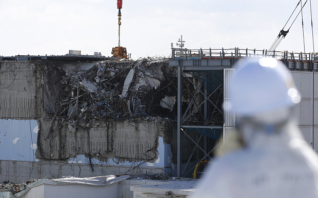 fukushima japan nuclear plant disaster leaking green times 2016 earthquake tsunami -2