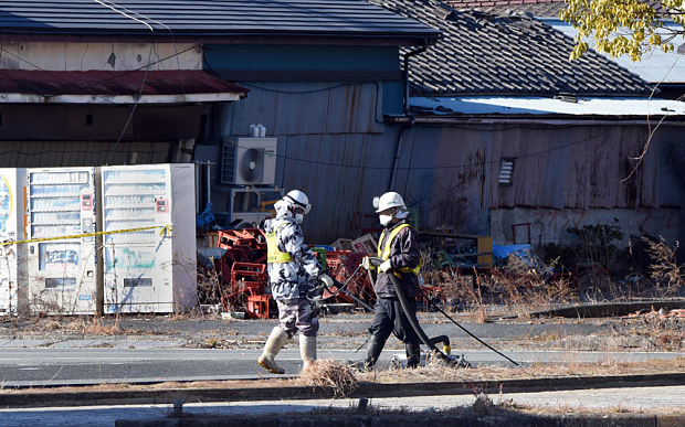 fukushima japan nuclear plant disaster leaking green times 2016 earthquake tsunami -4