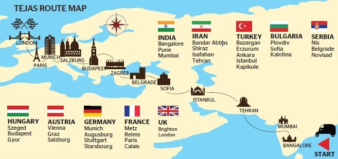 India to Britain in a solar Tuk Tuk Dubai2