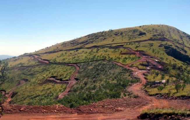 Madimatle Mountain iron ore mine Aquila Steel