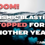 No seismic blasting in Canadian Arctic this year!