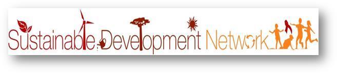 sustainable development network logo