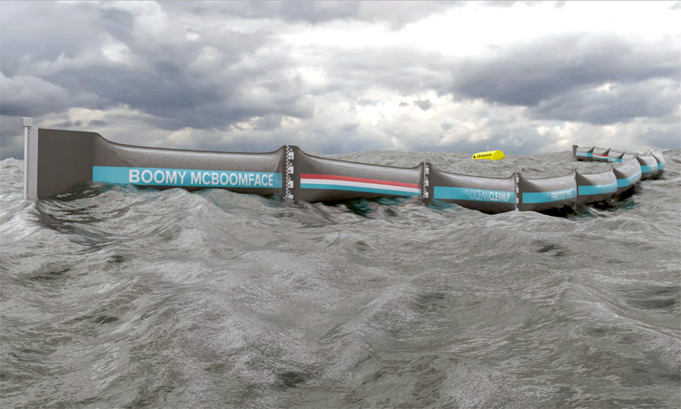 Boyan Slat's Ocean Cleanup Project Launches Historic First Prototype at Sea2