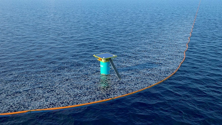 Boyan Slat's Ocean Cleanup Project Launches Historic First Prototype at Sea3