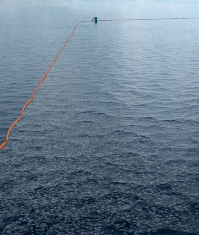 Boyan Slat's Ocean Cleanup Project Launches Historic First Prototype at Sea4