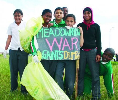 Wastewise cleanup cape town meadowridge
