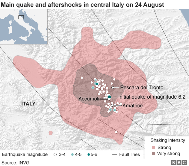 Italy earthquake Death toll 240 rescue efforts -6