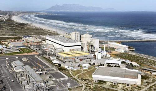 nuclear power station eskom koeberg cape town