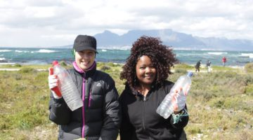Cleaning up Robben Island for International Coastal Clean-up Day