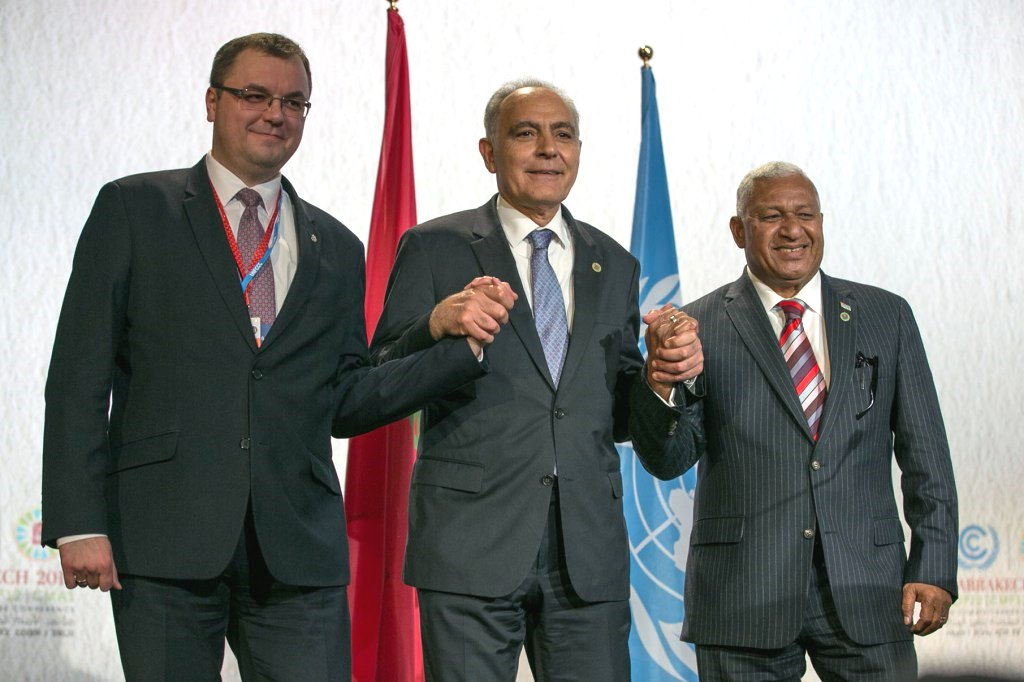 cop22-fiji-climate-change-morocco-ministers