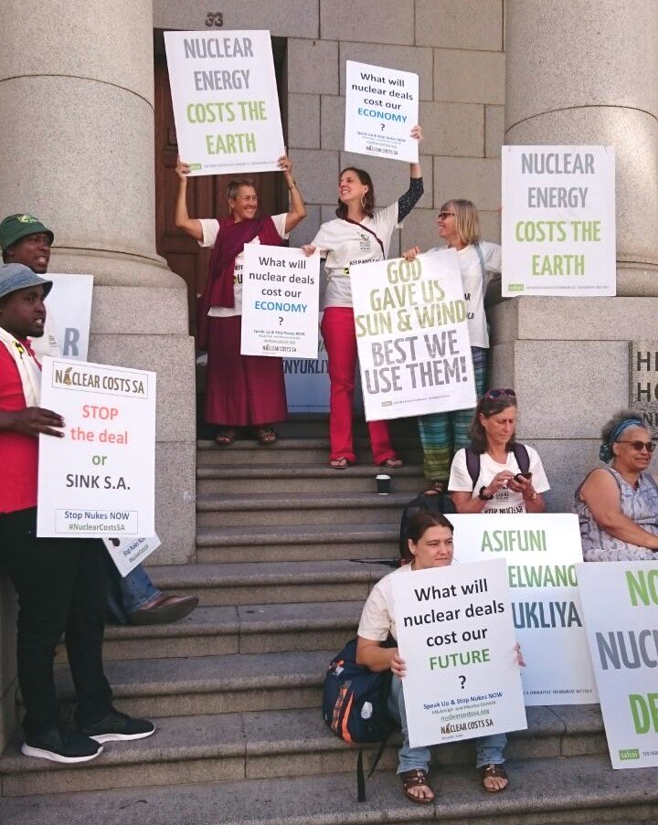 anti-nuke-protest-outside-cape-town-high-court-safcei-earthlife