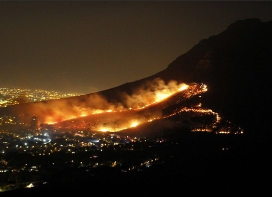 Cape Town looking into 'suspicious' series of fires