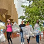 Fun runners clean Joburg, one plastic bottle at a time