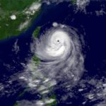 Typhoon Talim bringing wind and floods to China and Taiwan