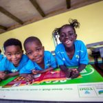 45 recycled desks donated to Hout Bay underprivileged kids