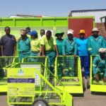 Community-run recycling initiative receives much-needed equipment