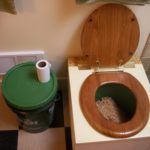 Toilet workshop showcases low-tech composting system