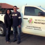 Gauteng polystyrene collectors help ensure recycling success