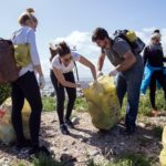 Volunteers help free Robben Island from waste burden