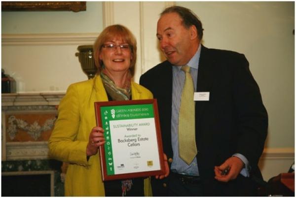 backsberg-wins-sustainability-award-at-the-drinks-business-green-awards