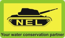 nel water conservation green banner