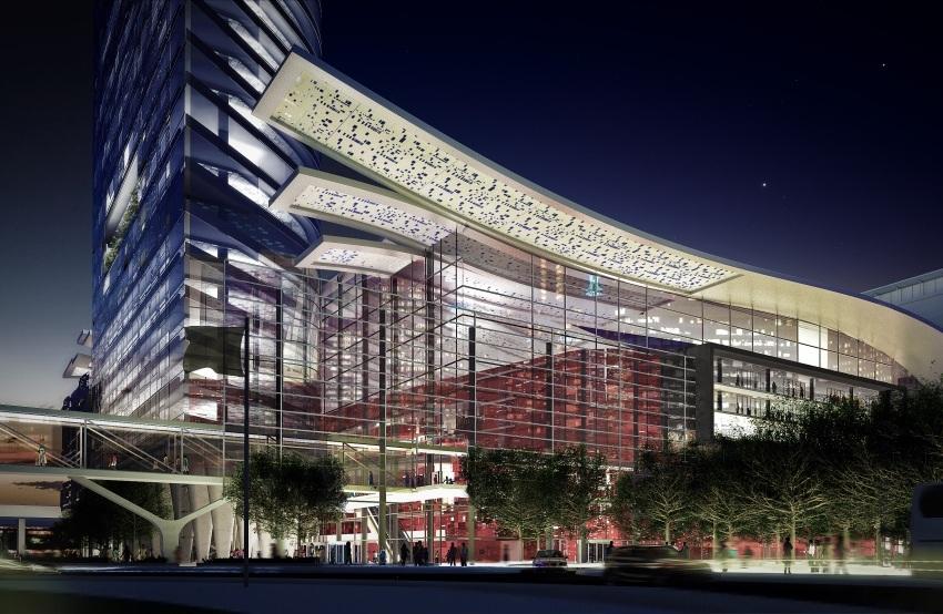 CTICC Expansion - View through facade