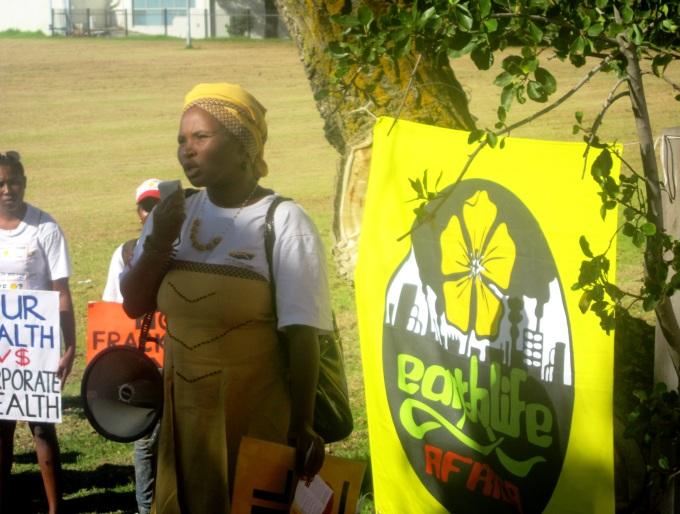 earthlife - fracking protest3