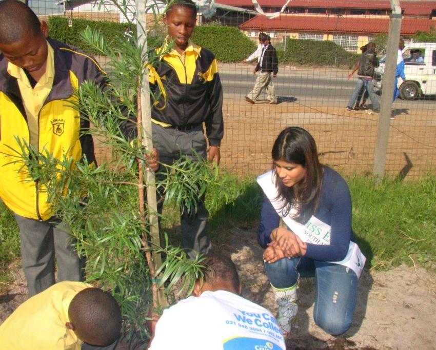 miss earth nahya tree planting -3