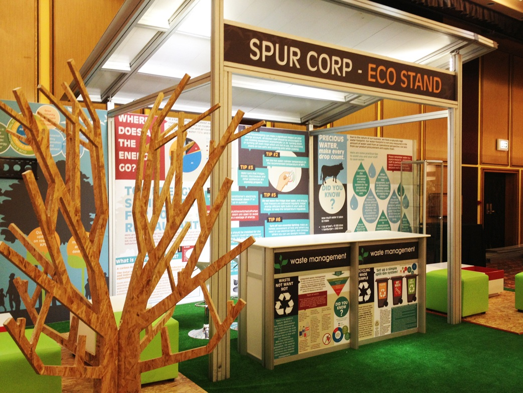 Spur Groups Eco Stand