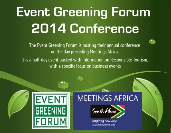 Event Greening Forum 2014