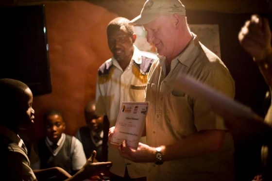 Project Rhino KZN hands out certificates to pupils