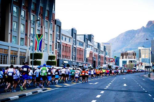 Cape Town Marathon Somerset Road