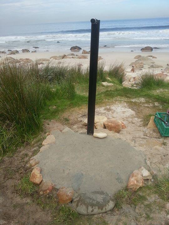 Koeel-Bay showerhead fixed