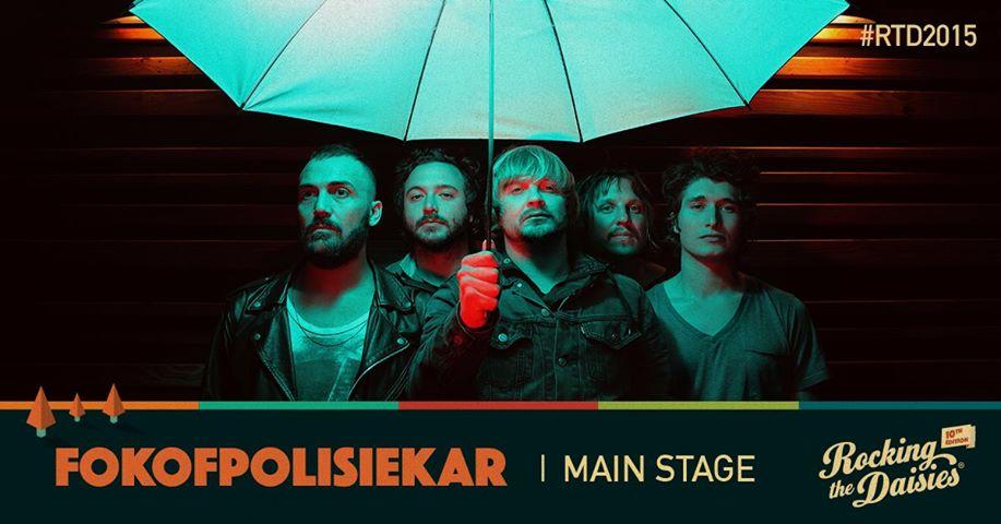 Rocking The Daisies 2015 Fokofpolisiekar